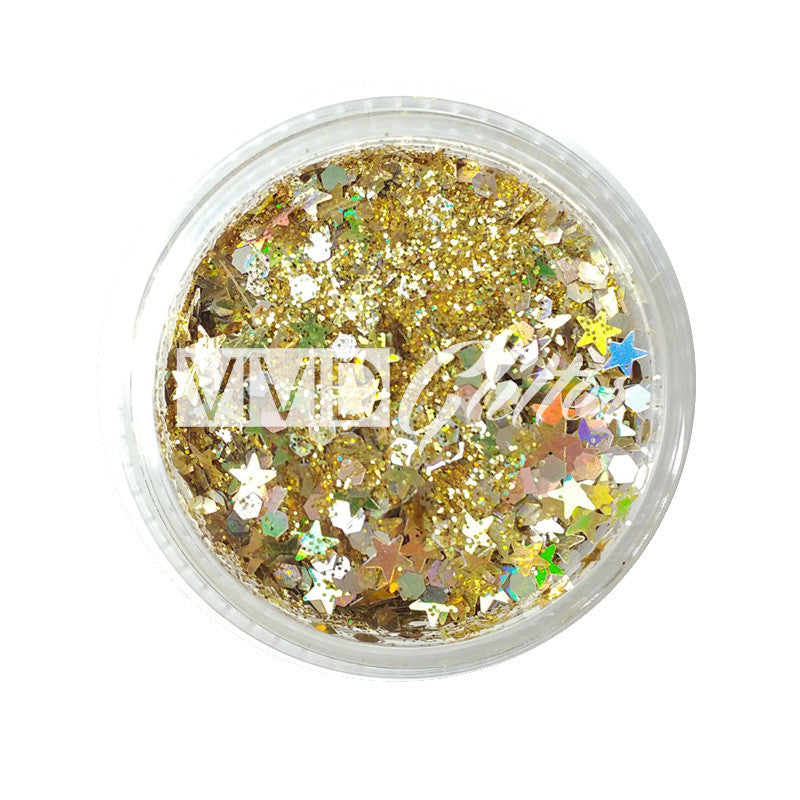 Gold Dust - Chunky Glitter Mix