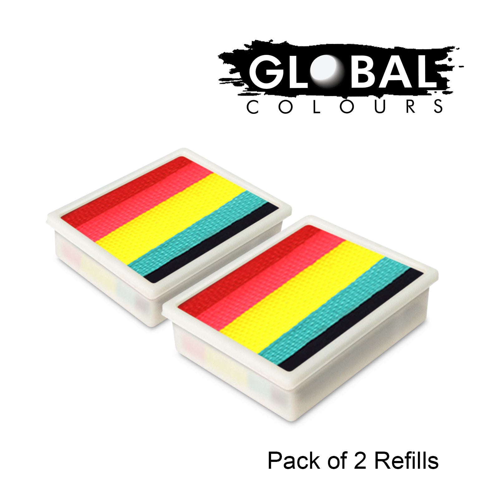 Global Fun Stroke Refill - Leanne's Rainbow Neon LC