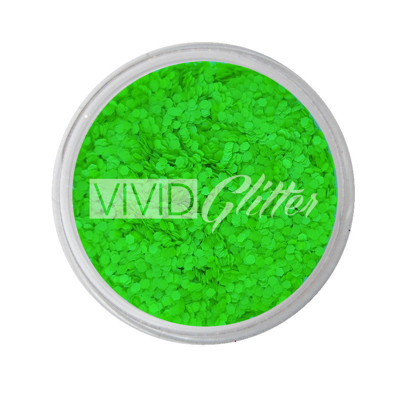 Extreme Green (small chunks) - UV Chunky Glitter