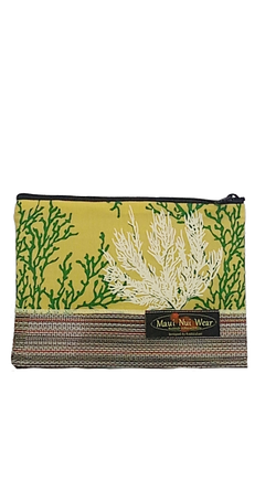 Maui Nui Wear Eco-Friendly Mesh Pouch Coral Melemele