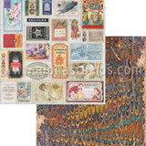 Gypsy Seamstress 12x12 Scrapbook Paper Set