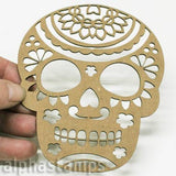 Chipboard Sugar Skull #3