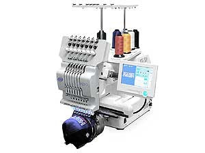 Happy Journey HCH-701-30 7-Needle Single Head Embroidery Machine