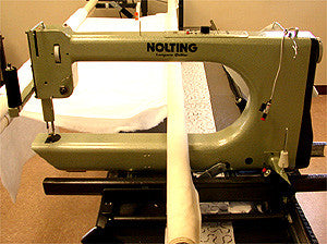 Nolting 24-Inch Longarm Quilting Machine With 12-Foot Table