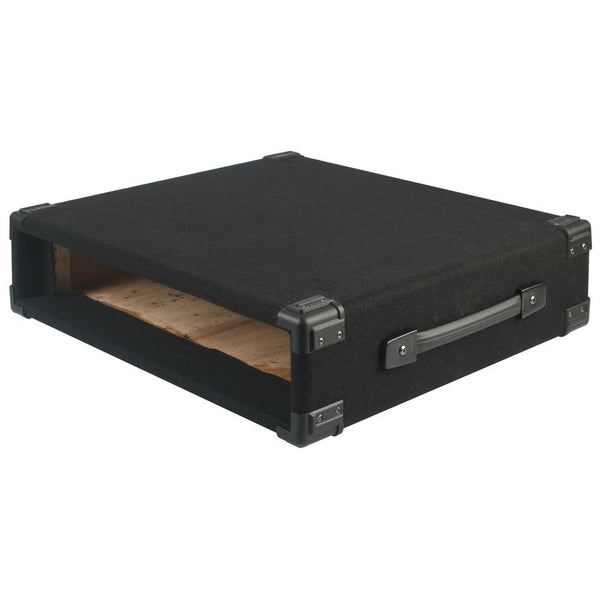 2U Rack Sleeve Carpet Covered-Cases-DJ Supplies Ltd