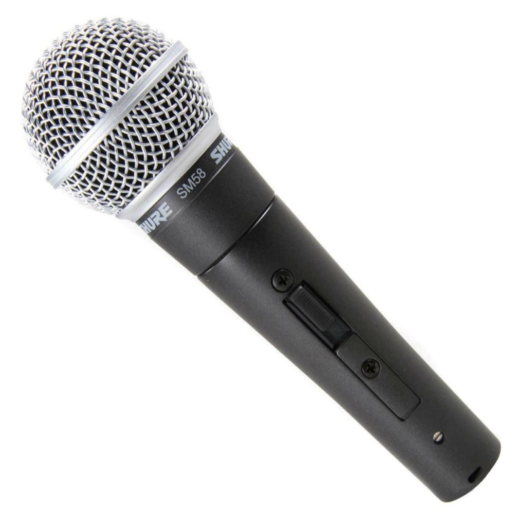 Shure SM58 Vocal Microphone With Switch-Microphones-DJ Supplies Ltd
