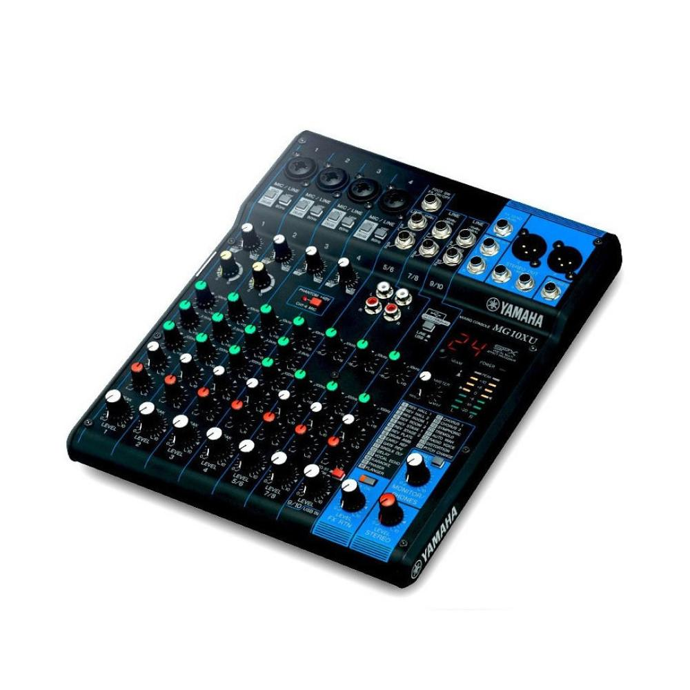 Yamaha MG10XU USB 10Ch Mixer With Effects-Live Mixers-DJ Supplies Ltd