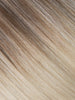 "BELLAMI Professional Tape-In 32"" 65g  Ash Brown/Ash Blonde #8/#60 Balayage Straight Hair Extensions"