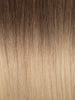 "BELLAMI Professional Volume Wefts 36"" 270g  Brown Blonde #8/#12 Rooted Straight Hair Extensions"