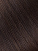"BELLAMI Professional Volume Wefts 36"" 270g  Dark Brown #2 Natural Straight Hair Extensions"