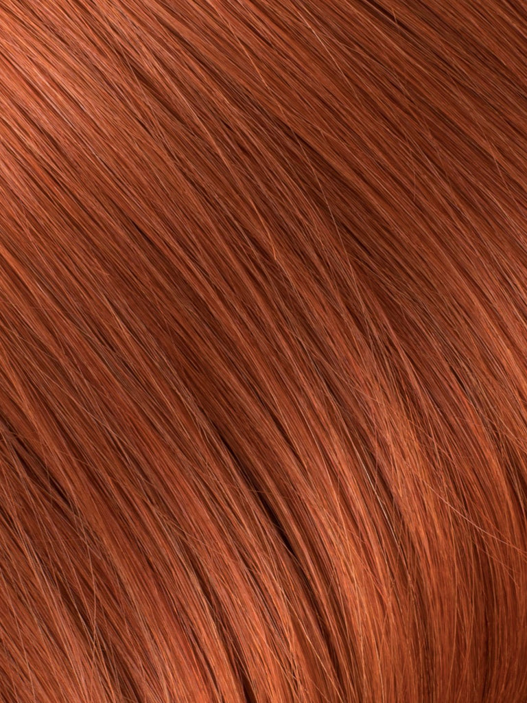 "BELLAMI Professional Volume Wefts 36"" 270g  Tangerine Red #130 Natural Straight Hair Extensions"
