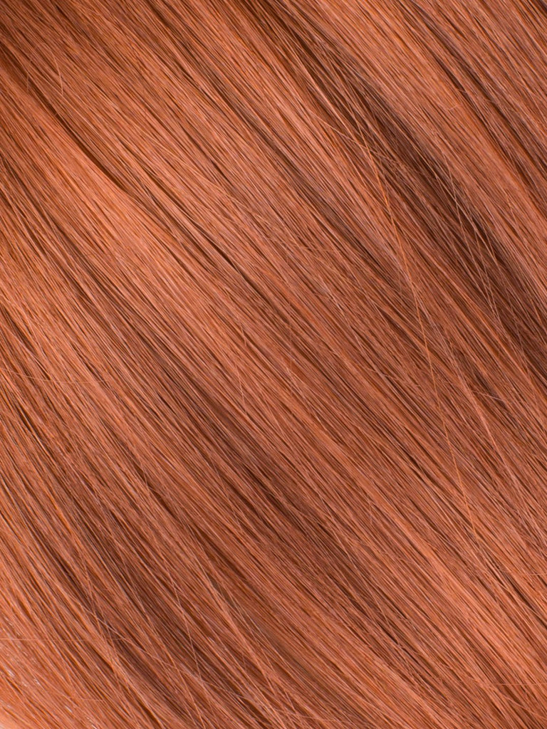 "BELLAMI Professional Volume Wefts 26"" 195g  Vibrant Auburn #33 Natural Straight Hair Extensions"