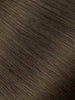 "BELLAMI Professional I-Tips 22"" 25g  Walnut Brown #3 Natural Straight Hair Extensions"
