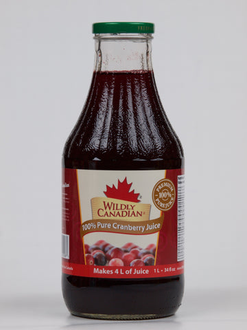 100% Pure Cranberry Juice (Makes 4L of Juice) - The Canadian Wild Rice Mercantile Ltd.