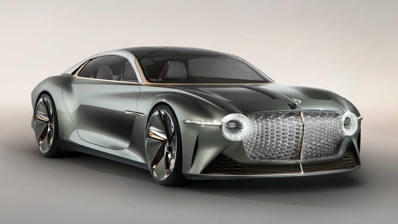 Bentley EXP 100 GT Coupé - The Future of Bentley