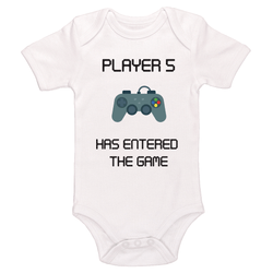 Player 5 Has Entered The Game Baby / Toddler Bodysuit