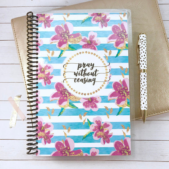 Custom Christian Journal - Summer Vibes - Faith Paper Shop