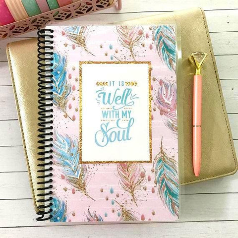 Custom Christian Journal - It Is Well