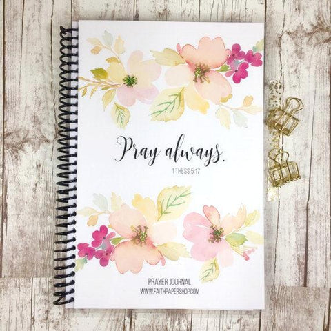 Prayer Journal - Delicate Dogwoods