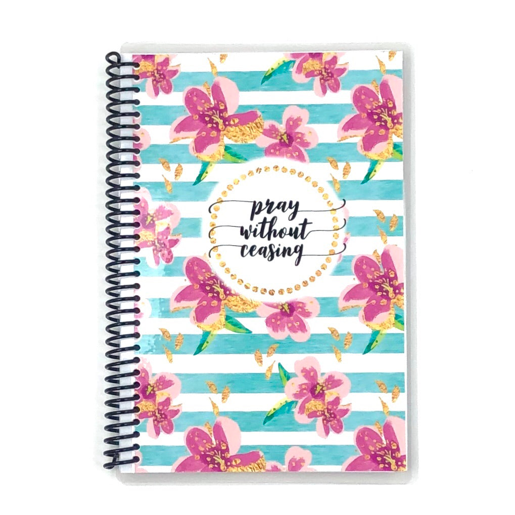 pray always, ladies custom scripture journal