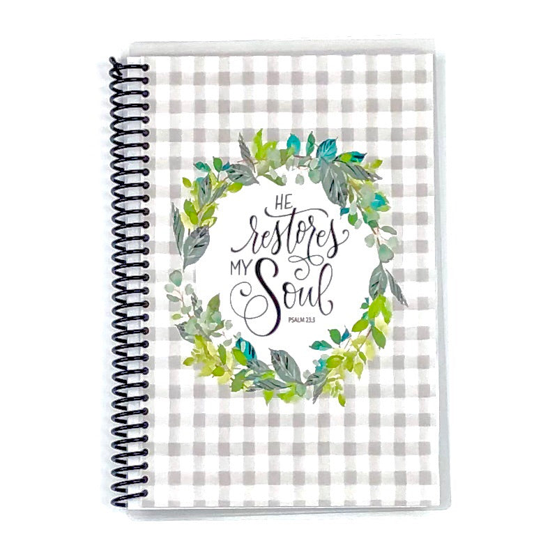 custom farmhouse journal from Faith Paper Shop