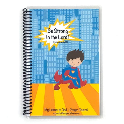 Boys Prayer Journal - Superhero