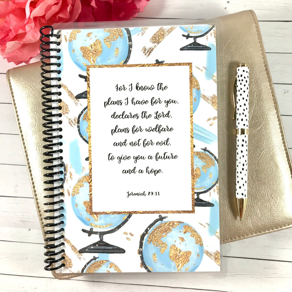 jeremiah 29:11 ladies journal