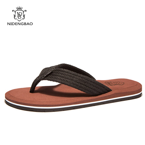 Mens Flat Flip Flops Sandals Casual Men Slippers Shoes Comfortable Summer Beach