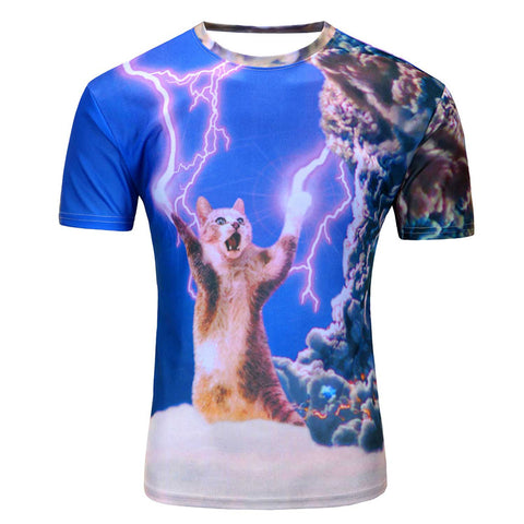 Mens Summer Newest Style 3D T Shirt