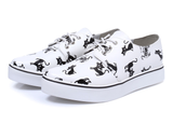 Womens Cat Print Casual Shoes