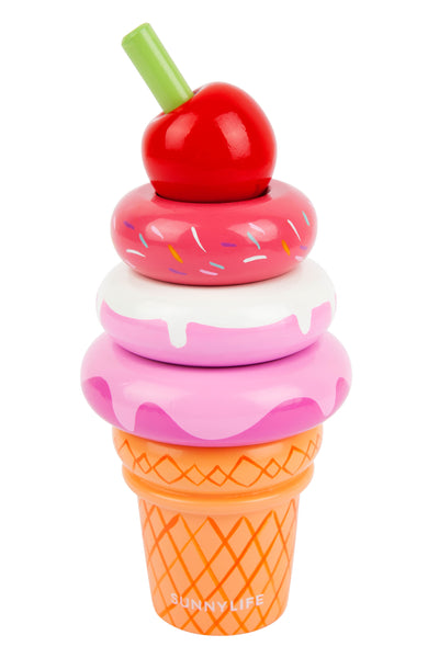 STACKING TOY ICECREAM