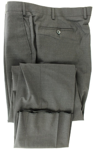 Covo & Covo Milano - Dark Charcoal Four Season Wool Pants - PEURIST