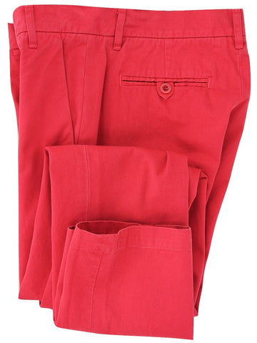 Band of Outsiders - Faded Red Cotton Chinos - PEURIST