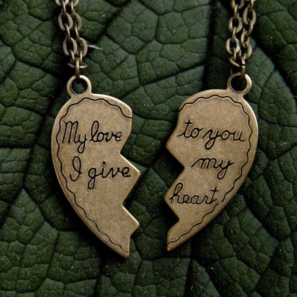 My Love Necklace Set
