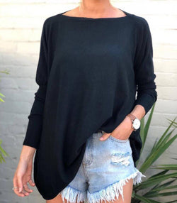 Flinders Knit - Black - MW Boutique