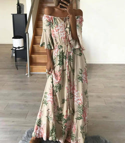 Vanuatu Dress - Nude - MW Boutique