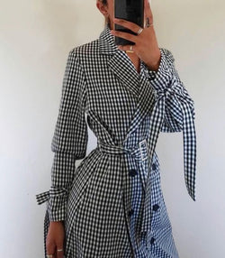 Bagira Check Yourself Trench - MW Boutique