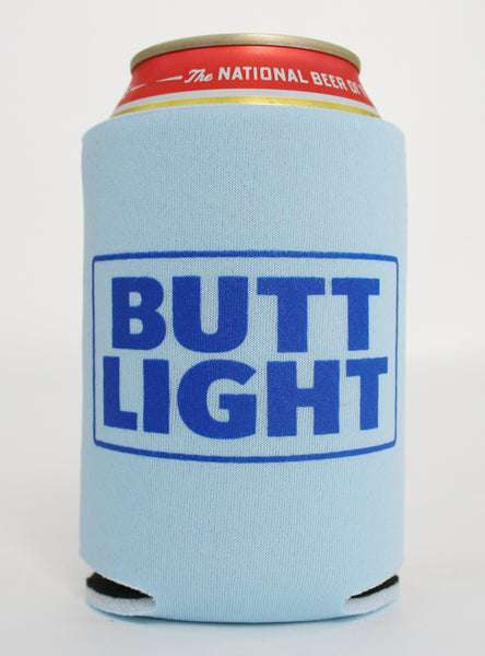 Butt Light Koozie