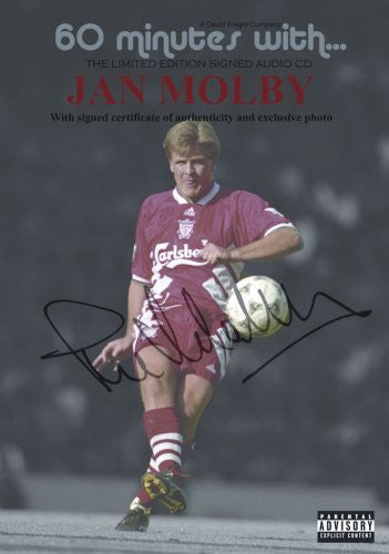60 minutes with Jan Molby (signed copy) Liverpool, Swansea by David J Knight & Jan Molby