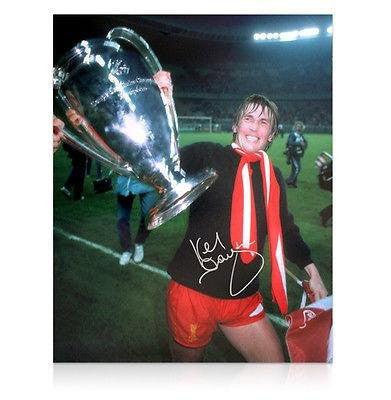 Autographed Kenny Dalglish Photo - European Cup