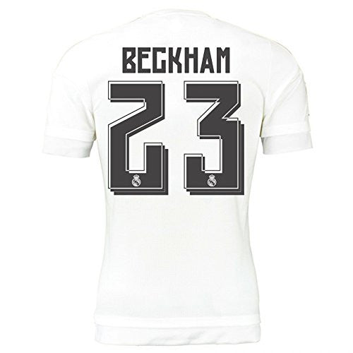 2015-16 Real Madrid Home Shirt (Beckham 23)