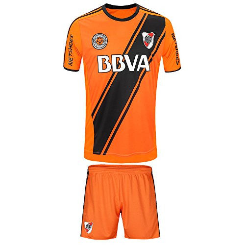 Men's Uniform River Plate Away Set 2017 (Jersey and Shorts Included)