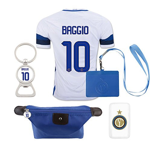 #10 Baggio (6 in 1 Combo) Inter Milan Away Match Adult Jersey 2016-17