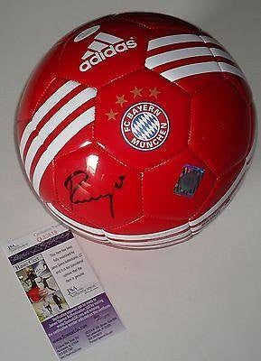 Karl-Heinz Rummenigge Signed Bayern Munich Ball Coa Authenticated