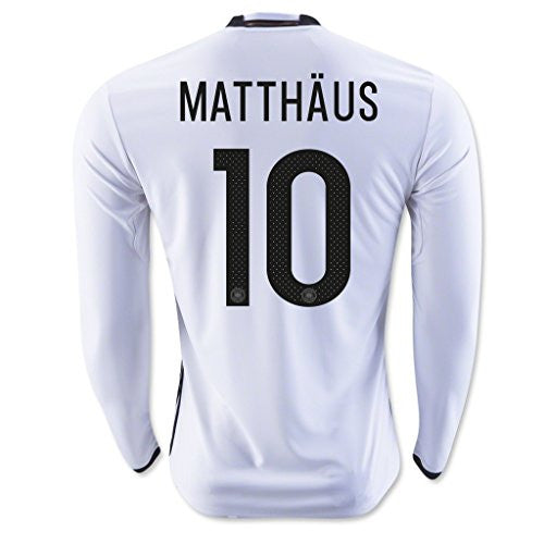 2016 White #10 Matthaus Home Long Sleeve Jersey