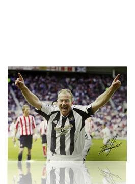 Alan Shearer Signed Photo: Last Goal vs Sunderland