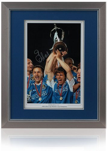 Gianfranco Zola Hand Signed 16x12 Photo