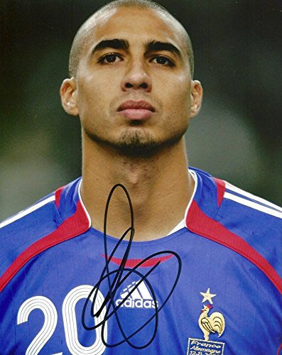 David Trezeguet FOOTBALL autograph, In-Person signed photo