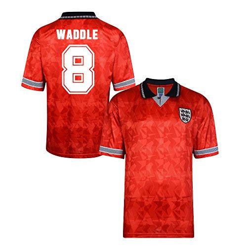 England World Cup 1990 Away Shirt (Waddle 8)