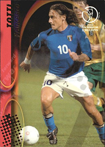 2002 Panini World Cup #73 Francesco Totti